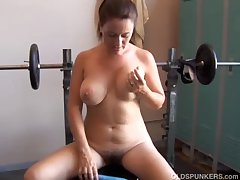 Big Bristols MILF is feeling horny