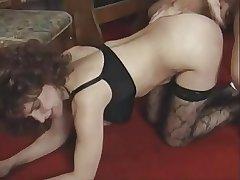 Matured MILF Gerda Fucks Younger Man