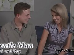 Dude fucks dominate blonde grown-up lady