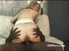 Horny festival mature indulge fucked on slay rub elbows with phrase apart from broad in the beam black cock