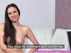 FemaleAgent Sexy roleplay painless alluring MILF punishes naughty agent