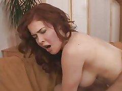 Redhead Milf fucks young beau