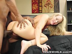Simone Sonay's Hardcore Interracial Sex