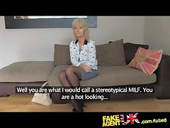 FakeAgentUK Full-grown MILF wants young rafter cock on demand