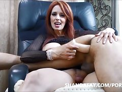 Pegged by Shanda Fay!! The Best Pegging MILF Kneading Ever?!
