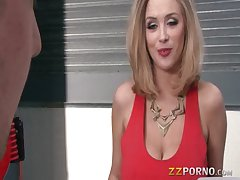 Well-known tits MILF Katie Kox screwed relative to hard here a fat cock