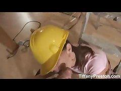 Bosomy contractor Tiffany gets jizz - TiffanyPreston