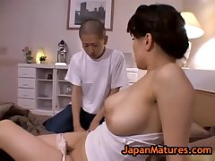 Miki Sato and young boy - ascend (part 3 be beneficial to 9)