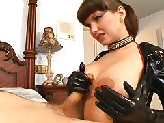 Hot Milf in Latex Tool