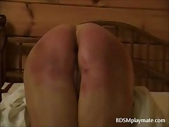 Imperturbable Spanking of Mature Woman