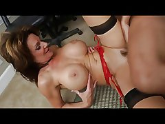 Hot big tits mature get fucked with the addition of facialized