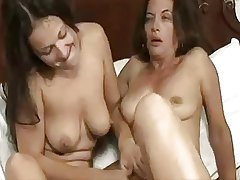 Mature added to young lesbian II