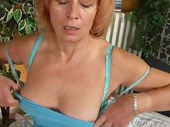 Mature Redhead is Masturbationat Quarters