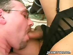 Full-grown prop hot 69 action