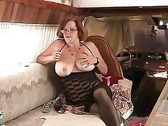 Solo #4 (Mature Redhead with Chunky Boobs)