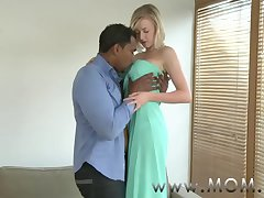 Mommy Peaches MILF with Broad in the beam Tits takes his ambit