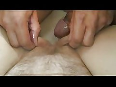 Flimsy broad in the beam MILF with big tits fucked