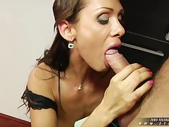 Tiffany Taylor gets her fetching pussy rammed hard, deep, increased by dirty.