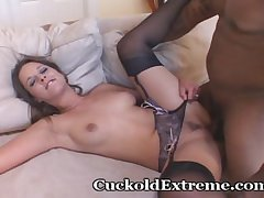 Brunette Loves Contrast Be beneficial to Huge Black Load of shit