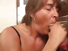 Mature Squirting for us  - Abysm Anal young man