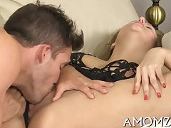 Adult sweetheart moans and acquires off