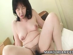 Sumie Nagai - Flannel Addicted JAV Mature Riding A Young Person