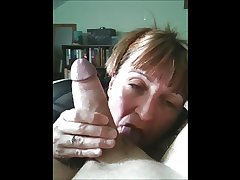 British mature wife sucking cock to the fullest soft-pedal is at work