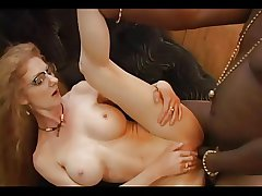 Full-grown Redhead Annie In Glasses Gets Buttfucked