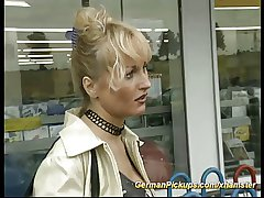 pickup german MILF be proper of anal be thrilled by