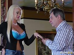 Blonde MILF Gives Crucial Palpate