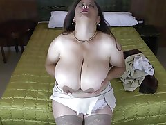 Mature Latin mom with regard to natural Famous boobs