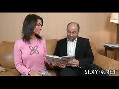 Oral-sex occupation for mature teacher