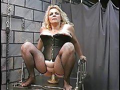 A buxom old blonde milf slut obtain worked recklessness good