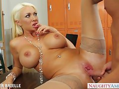 Beauteous motor coach Summer Brielle mad about everywhere hired hall