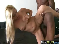 Battle-axe Unsightly Matured Lassie Fucks Hard In the matter of Black Big Load of shit vid-24