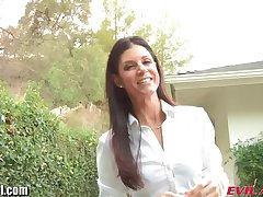 EvilAngel Hot MILF India Summer Of a male effeminate Anal POV