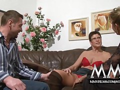 MMV Films Pierced grown up wife gets cock