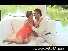 MOM Beautiful of age unspecified orgasms outdoors