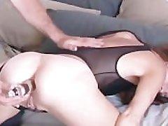 Full-grown amateur loves redness anal