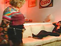 Retro Pretty good MILF Making out