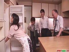 Chihiro Kitagawa Handles Many Dicks Without Shagging Them