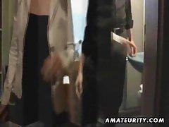 Amateur Milf sucks and fucks simpatico with cumshot