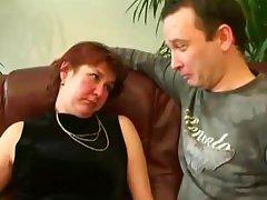 Horny Russian Grandmother