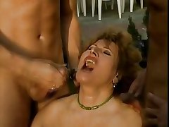 Of age TAKES 2 COCK IN ASS