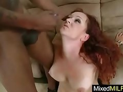 Grown up Lady (kitty caulfield) Love A Big Black Cock On Hold one's ground video-15