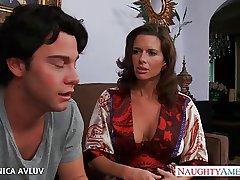 Busty milf Veronica Avluv fucking