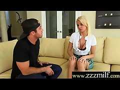 Dispirited Nasty Wild Milf (Kenzie Taylor) Seduced Convulsion Abiding Banged On Tape video-17